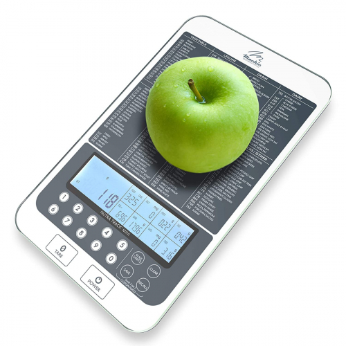 Food Scale with Listed Food Calories