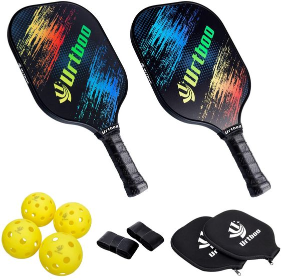 Pickleball Paddle Racket Sets, Balls and Gear